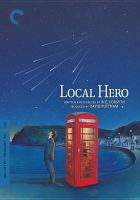 Local hero Director-approved special edition.