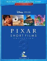 Pixar short films collection. Volume 3. [Multiscreen edition, Blu-ray, DVD, Digital Code].