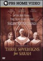 Three sovereigns for Sarah Standard format.
