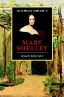 Cambridge companion to Mary Shelley / edited by Esther Schor.