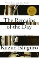Remains of the day / Kazuo Ishiguro.
