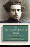 Gramsci reader : selected writings, 1916-1935 / edited by David Forgacs ;