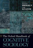Oxford handbook of cognitive sociology