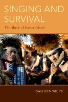 Singing and survival : the music of Easter Island