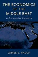 Economics of the Middle East : a comparative approach