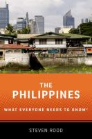 Philippines : what everyone needs to know
