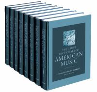 Grove dictionary of American music Second edition.