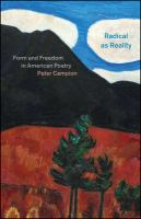 Radical as reality : form and freedom in American poetry