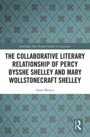 Collaborative literary relationship of Percy Bysshe Shelley and Mary Wollstonecraft Shelley