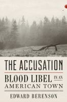 Accusation : blood libel in an American town