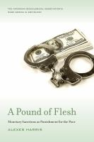Pound of flesh : monetary sanctions as punishment for the poor