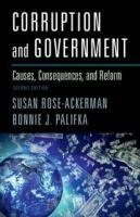 Corruption and government : causes, consequences, and reform / Susan Rose-Ackerman,Yale, Bonnie J. Palifka, Tecnologico de Monterrey.