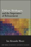 Eckhart, Heidegger, and the imperative of releasement