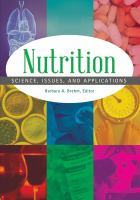 Nutrition : science, issues, and applications