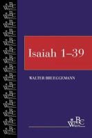 Isaiah 1-39 First edition.