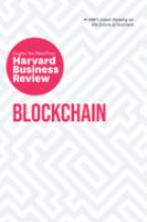 Blockchain : the insights you need from Harvard Business Review.