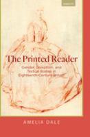 Printed reader : gender, quixotism, and textual bodies in eighteenth-century Britain