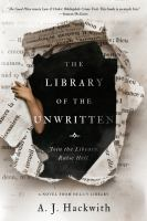 Library of the unwritten First edition.