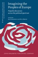 Imagining the peoples of Europe : populist discourses across the political spectrum