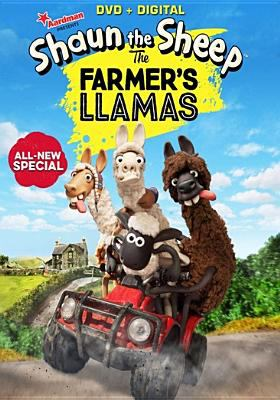 Shaun the sheep.   The farmer's llamas