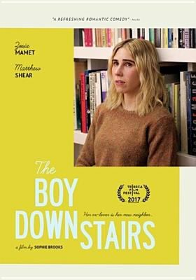 The boy downstairs by