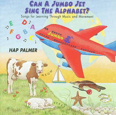 Can a jumbo jet sing the alphabet songs for learning through musi