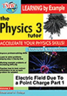 Electric field due to a point charge.  Part 1