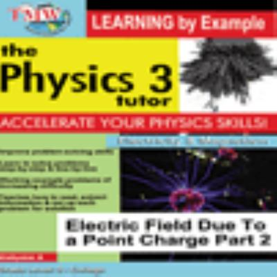 Electric field due to a point charge.  Part 2