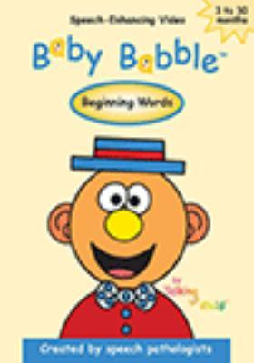 Baby babble.   Beginning words