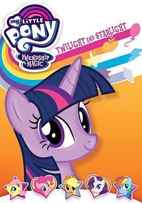 My little pony, friendship is magic.   Twilight and Starlight.