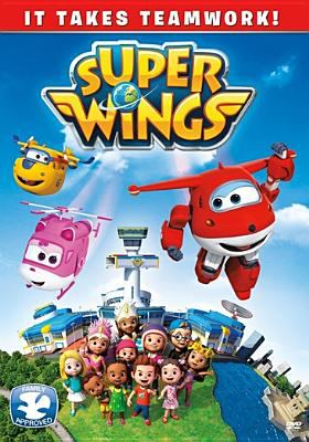 Super wings. It takes teamwork!