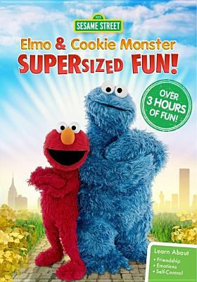 Sesame Street.   Elmo and Cookie Monster supersized fun.