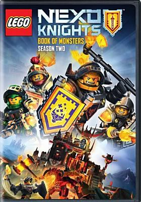 Lego Nexo knights.   Book of monsters