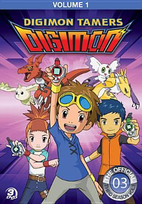 Digimon tamers. Season 3, Volume 1