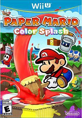 Paper Mario color splash [Wii U].