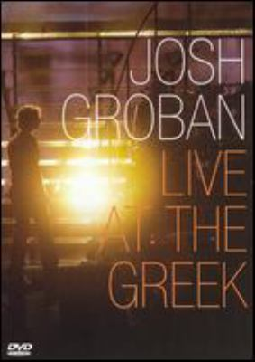 Josh Groban live at the Greek.