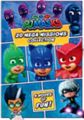 Pj Masks: 20 Mega Missions Collection