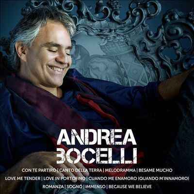 Icon. Andrea Bocelli