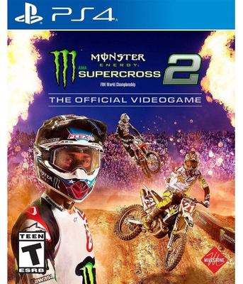 Monster Energy Supercross 2 : the official videogame [PlayStation 4]