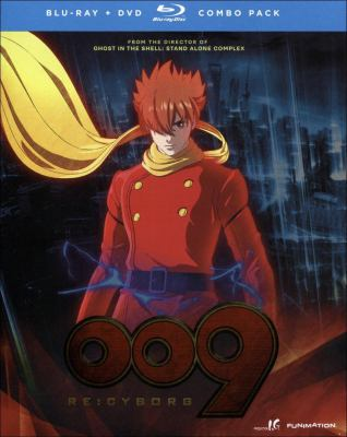 009 re : cyborg [COMBO Pack]