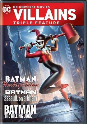 DC Universe Movies Villains Triple Feature