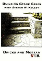 Building stone steps.