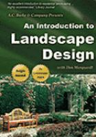 An introduction to landscape design