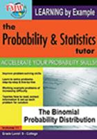 The probability and statistics tutor. Volume 11, The binomial probability distribution