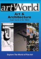 Art & Architecture : Avant Garde of the 1960's