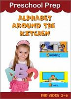 Preschool Prep. Alphabet around the kitchen.