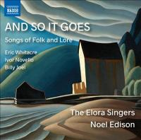 And so it goes : songs of folk and lore