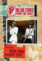 Rolling Stones, live from the vault. Hyde Park live 1969