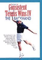 Consistent Tennis Wins IV