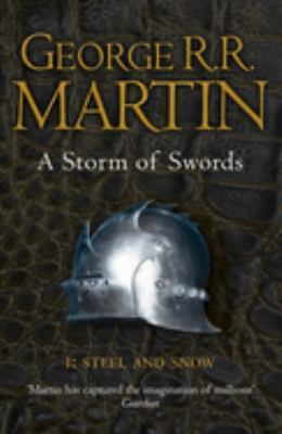 Book cover for A storm of swords. 1, Steel and snow